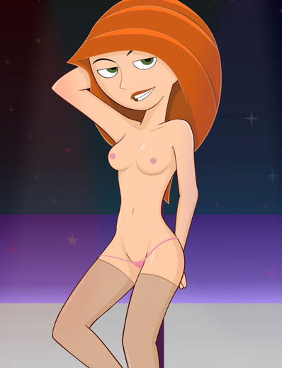 Hot nude kim possible sex