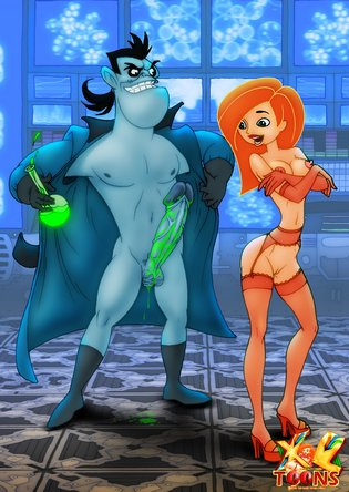 Kim possible naked with a dick